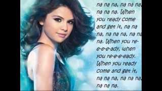"... ""come & get it"" on itunes: http://smarturl.it/sgituness1 come it lyrics screen selena gom..."