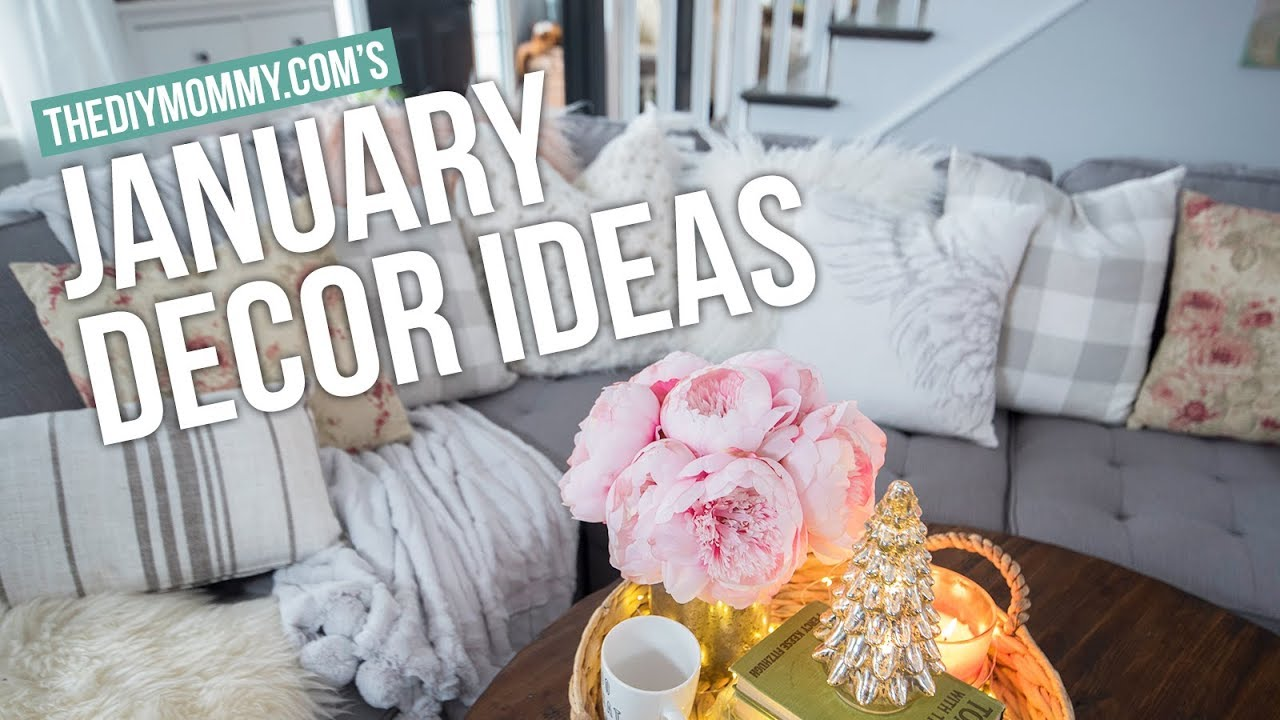 Winter Decorating Ideas For JANUARY | The DIY Mommy