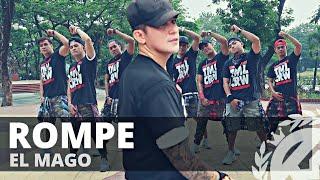 Download lagu ROMPE by El Mago | Zumba | Reggaeton | TML Crew Kramer Pastrana