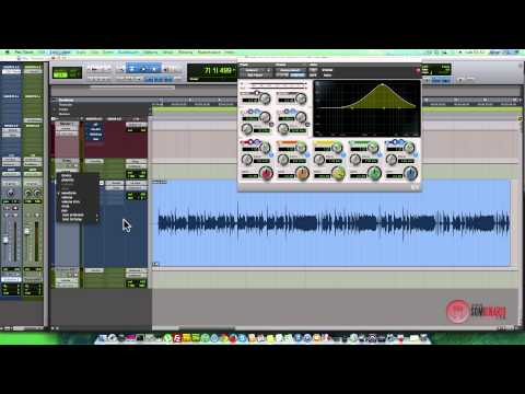 Automação de Plugins no Pro Tools