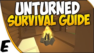 Unturned 3.0 ➤ Survival Guide - How To Build A Base, Base Building, Storage, Crafting [part 3]