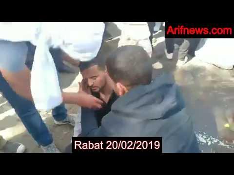 Geweld tegen docenten in Rabat 20/02/2019