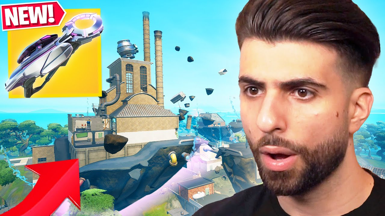 *NEW* Fortnite Update CHANGES THE MAP! (Slurpy Abduction, Grabitron and MORE)