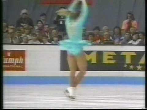 Tonya Harding (USA) - 1991 World Figure Skating Championships, Ladies' Free Skate