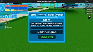 How to get code game boku no roblox | Roblox NQB |