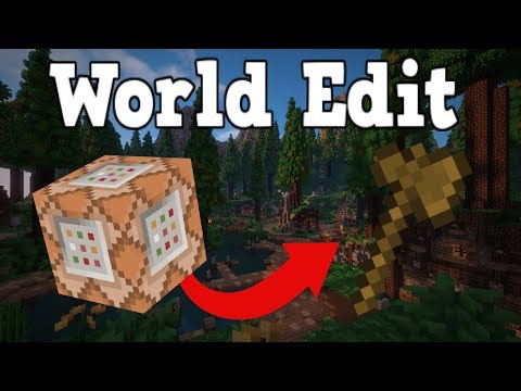 Minecraft: Bedrock Edition/Xbox One/MCPE | World Edit Command Block Function Tutorial