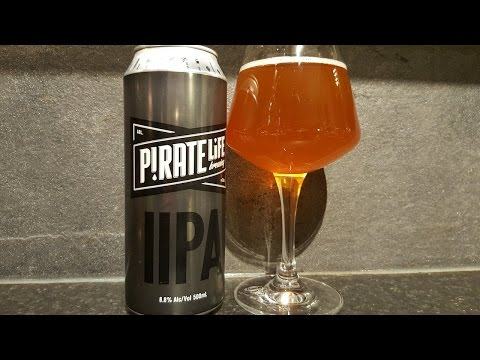 Pirate Life IIPA Imperial IPA By Pirate Life Brewing Company | Australian Craft Beer Review