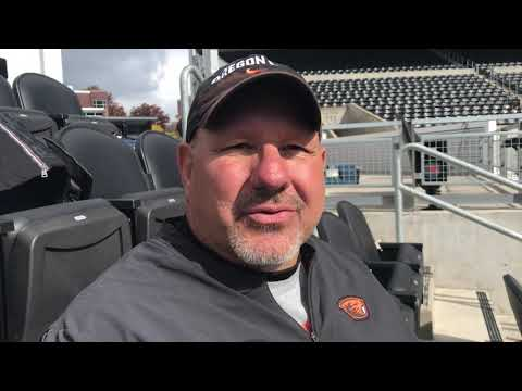 Oregon State Beavers - Beaver O-Line a key versus Utah Saturday!