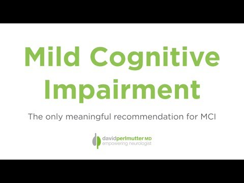 The ONLY Meaningful Treatment for Mild Cognitive Impairment - YouTube