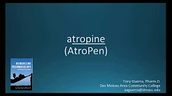 How to pronounce atropine (AtroPen) (Memorizing Pharmacology Flashcard)