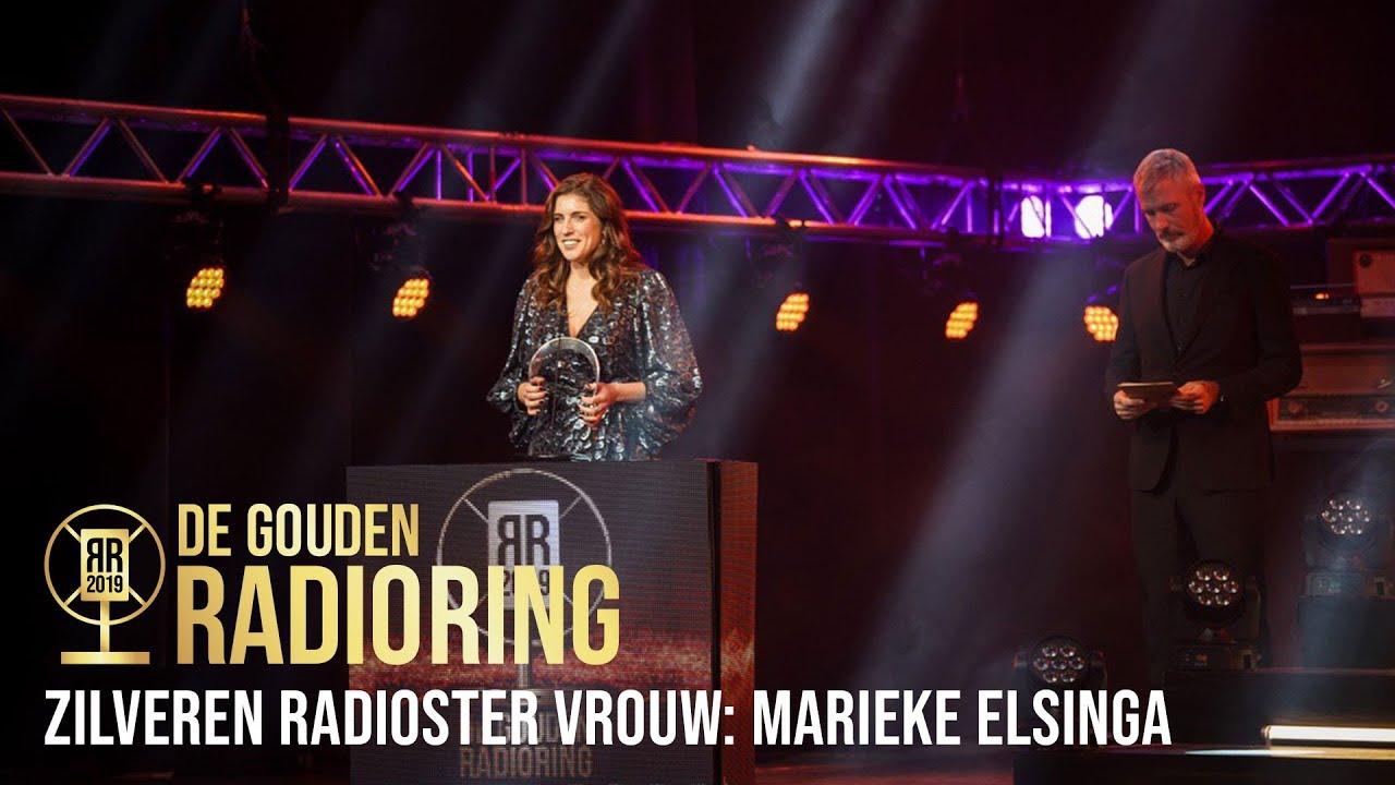 De Zilveren Radioster Vrouw Is Voor Marieke Elsinga Het