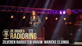 De Zilveren Radioster Vrouw Is Voor Marieke Elsinga! | Het Gouden Radioring Gala 2019