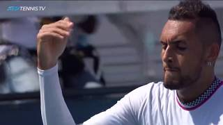 Nick Kyrgios: Best Shots & Entertaining Moments from Miami 2019