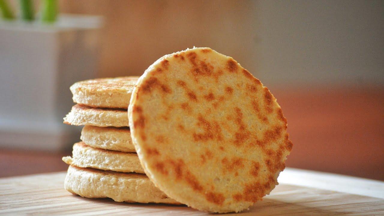 Coconut Flatbread | ASMR | Quick & Easy Homemade Recipe | Food Gallery