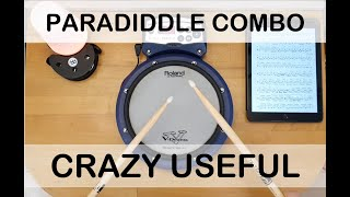 Awesome Paradiddle Combo