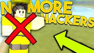 NO MORE HACKERS! (NEW UPDATE) | Roblox: Booga Booga