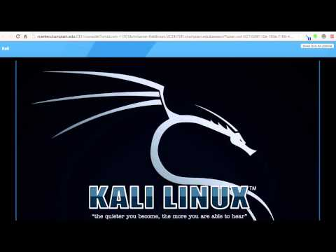 Getting Started with Kali