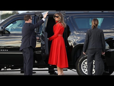 Why Melania May Have Spent Weekend In Mar-a-Lago While Trump Stayed In D.C.