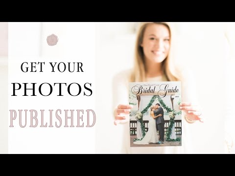 How to get Your Photos Published as a Wedding Photographer | Joy Michelle Photography