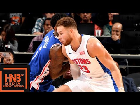 Philadelphia Sixers vs Detroit Pistons Full Game Highlights | 10.23.2018, NBA Season