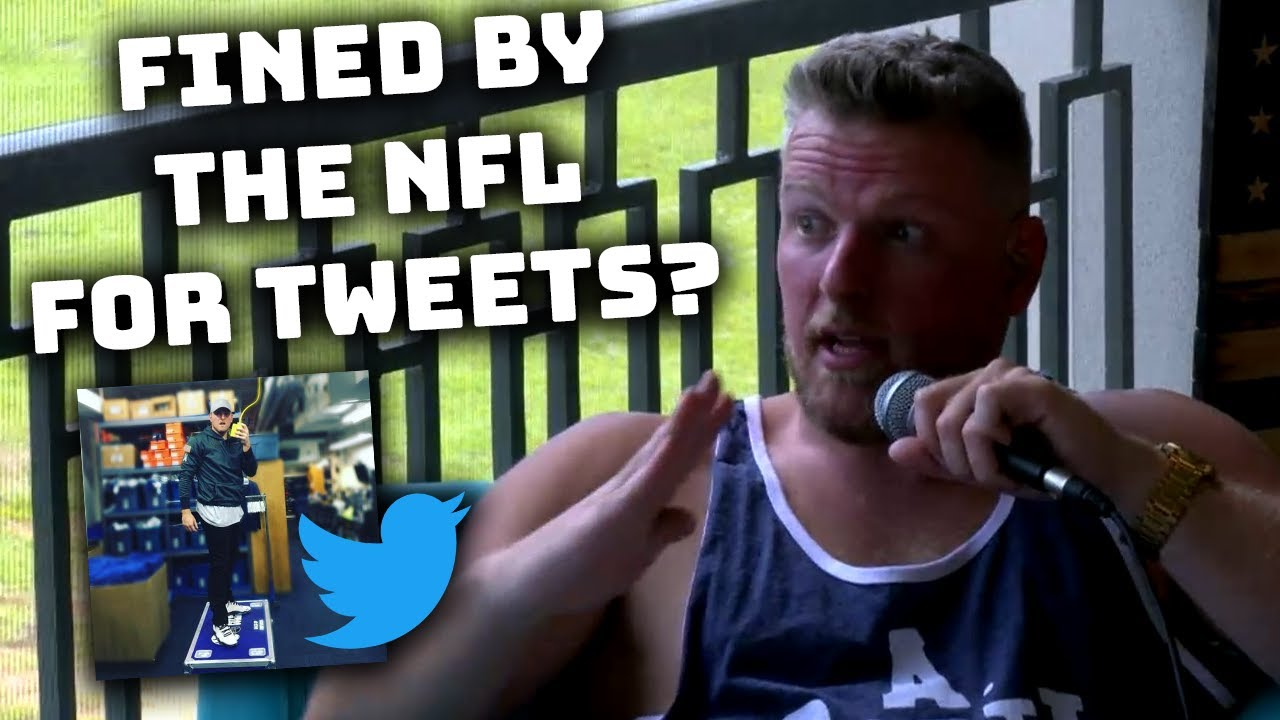 Pat McAfee Talks Getting Fined For Tweets While In The NFL