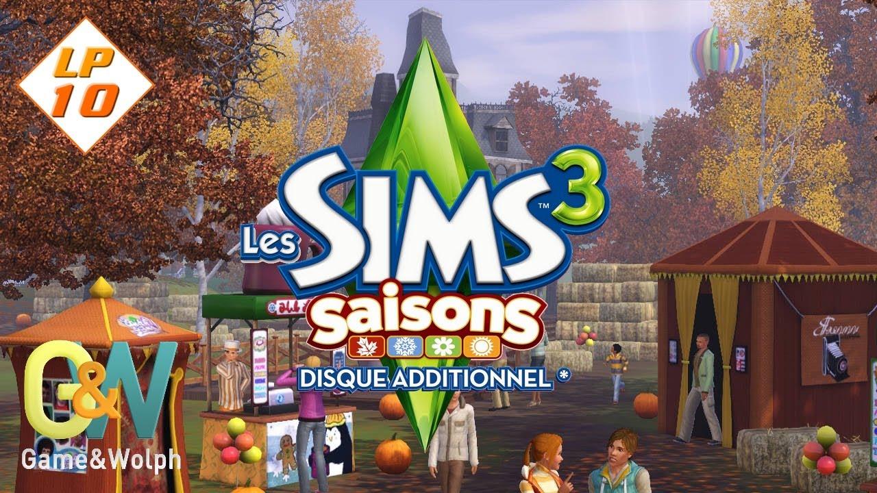 Les Sims 3 : Saisons [LP-10] - Le parc des festivités