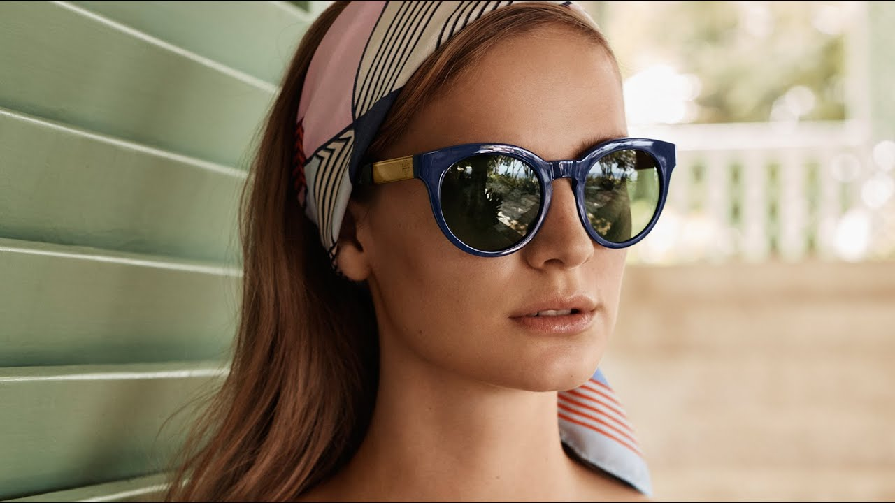 tory burch spring/summer 2016 sunglasses - youtube