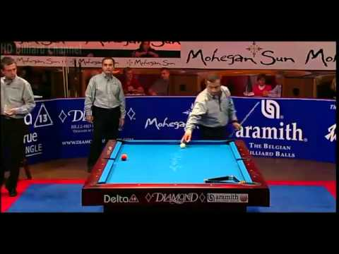 HD Billiard World Cup of Trick Shot 2012   USA vs Europe Final Part 4