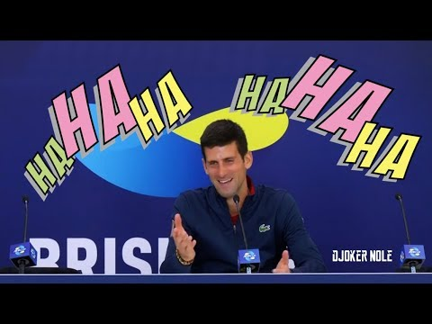 "Novak Djokovic ""Sorry, but is so FUNNY, HAHAHA"" - Brisbane 2020 (HD)"