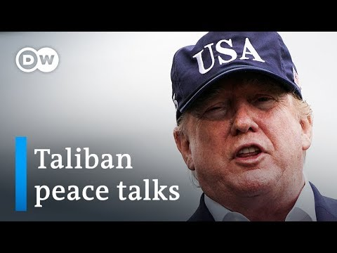 Trump cancels peace talks with Taliban at Camp David | DW News