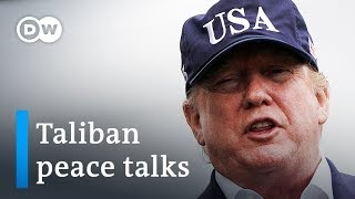 Trump cancels peace talks with Taliban at Camp David | DW News