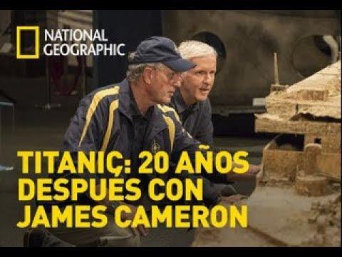 Titanic 20 años después con James Cameron