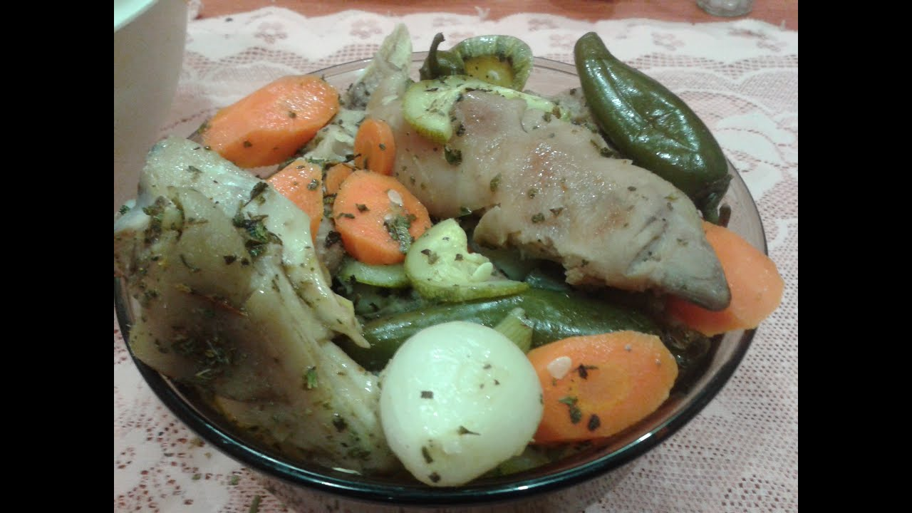 Manitas de cerdo a la vinagreta youtube for Cocinar manitas de cerdo