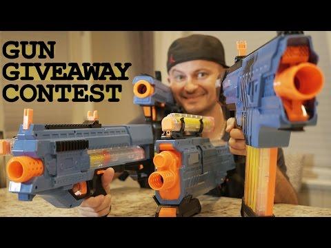 Nerf Rival Khaos vs Zeus vs Apollo vs Atlas + Gun GIVEAWAY Contest!!