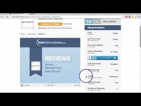 Видео Best debt consolidation companies