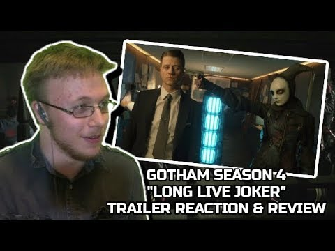 "Gotham Season 4 ""Long Live Jerome"" Trailer Reaction & Review"