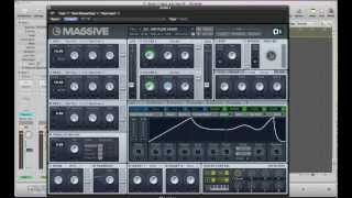 Drum & Bass NI Massive Arpeggiator