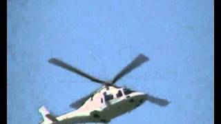 Agusta Westland AW109 Power  low pass display
