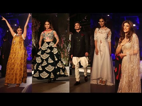 Lakme Fashion Week: Celebs walk the ramp for Manish Malhotra, watch video | Filmibeat