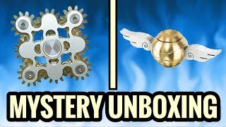 EXTREMELY RARE FIDGET SPINNERS UNBOXING!! (Coolest Spinners Ever)