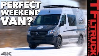 This Mercedes-Benz Sprinter RV Is Ready For Your Next #Vanlife Adventure (Sponsored)