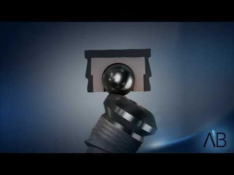 AB Dental Implants- Angular Ball attachment - YouTube