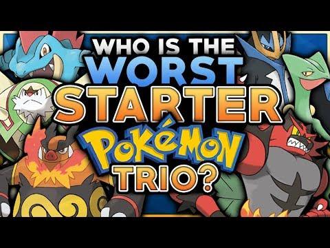 Which Is The WORST Starter Pokemon Trio?