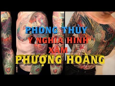 Ý Nghĩa Phong Thủy HÌNH XĂM PHƯỢNG HOÀNG - Best Phoenix Tattoo - Giải Mã Hình Xăm