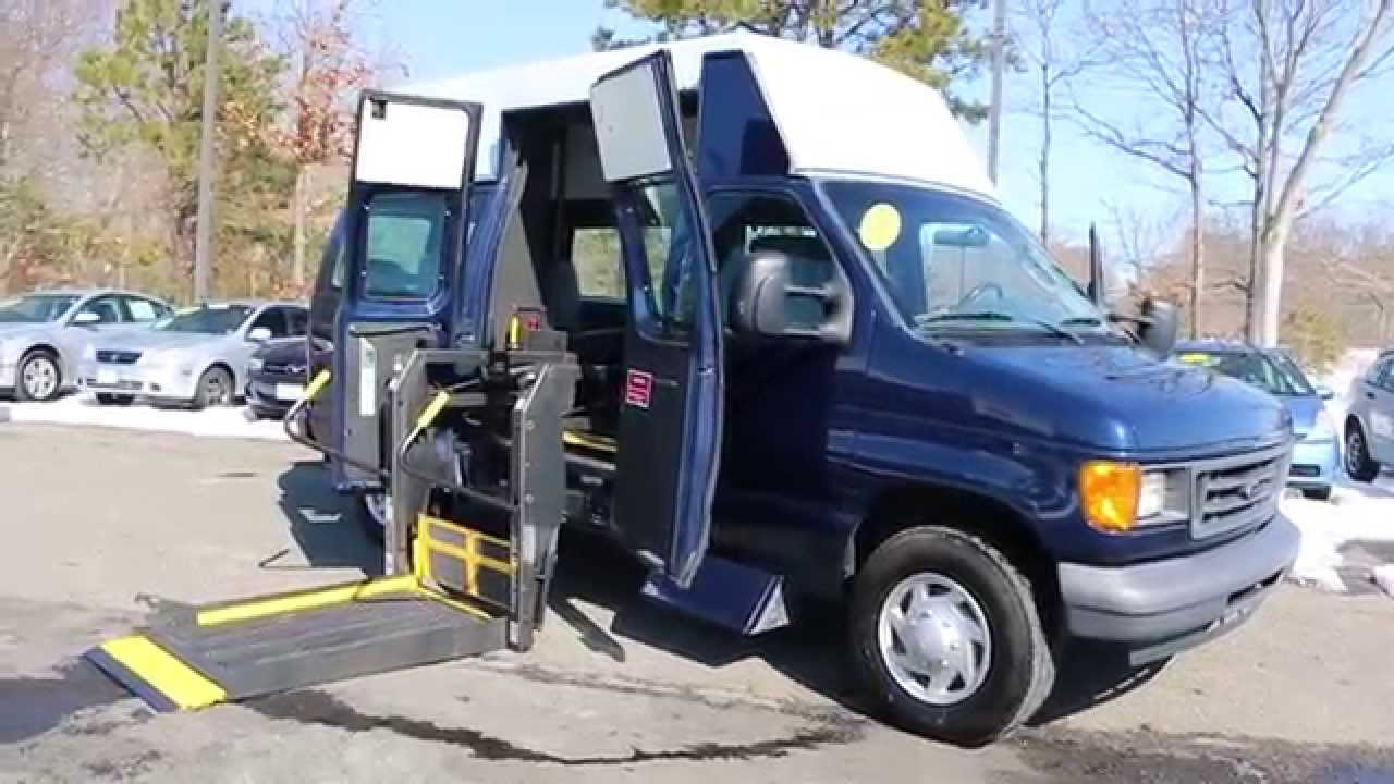 2007 Ford Econoline E350 Handicapped Lift Van For Sale