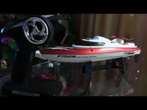 Радиоуправляемый катер R-Wings RWW200 из М.Видео-это FT009 с Али экспресс.