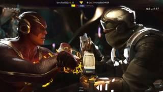 SonicFox (Captain Cold) vs HoneyBee (Flash) Part 1
