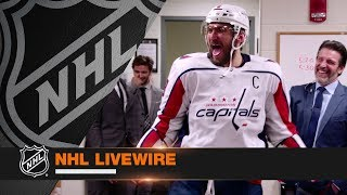Download NHL LiveWire: Capitals mic'd up in dramatic OT win to eliminate Penguins Mp3 and Videos