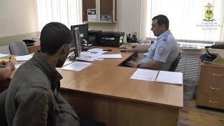 Усть-Лабинские полицейские задержали подозреваемого в серии краж