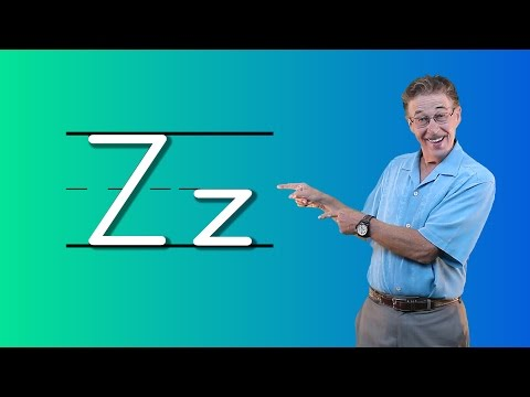 Learn The Letter Z | Let's Learn About The Alphabet | Phonics Song for Kids | Jack Hartmann